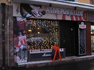 Restaurant, Cafe/Pub/Club A'Live Club