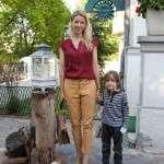 Sonia Argint Ionescu si fiul ei
