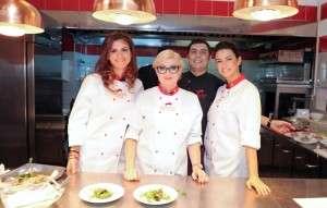 Frumoase la Cooking Show la Barbizon - WTC 3
