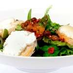 Meniu Salata verde si branza de capra gratinata