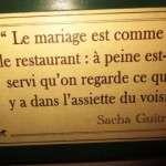 Restaurant Auberge Pyrenees Cevennes - Paris 2013 - 11