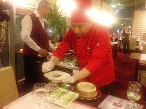 Bucatarie chinezeasca la restaurantul Nan Jing din Bucuresti