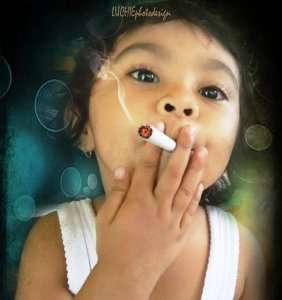 Undergraduate la Scoala de Fumat Angoli din Oraselul Copiilor
