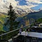 Restaurantul Edelweiss, Murren, Elvetia