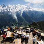 Restaurantul Le Panoramic, Charmonix, Franta