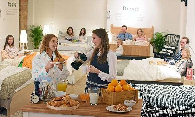 IKEA Breakfast in Bed Café