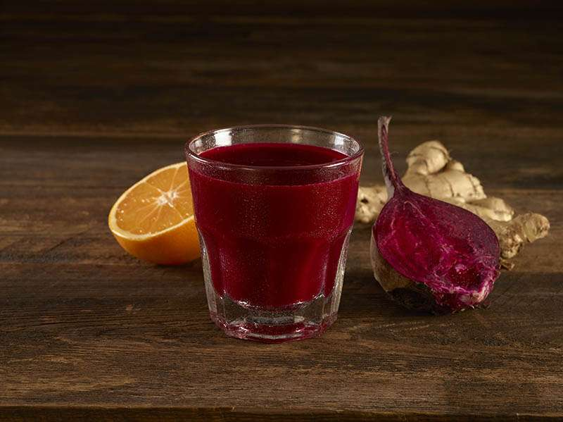Beet, Orange & Ginger Smoothie