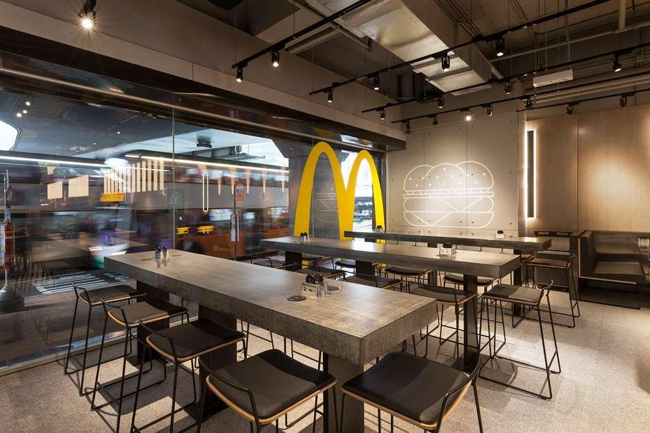 McDonald's Next // sursa foto: dezeen.com