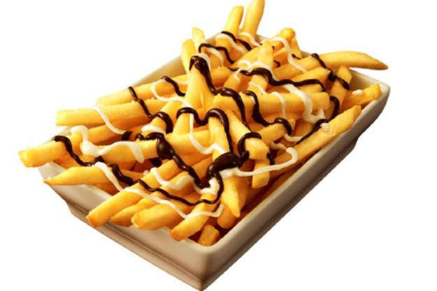Cartofi prajiti cu ciocolata // sursa foto: McDonald's