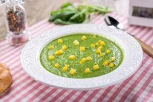 Supa de sparanghel, spanac si fasole verde (1)