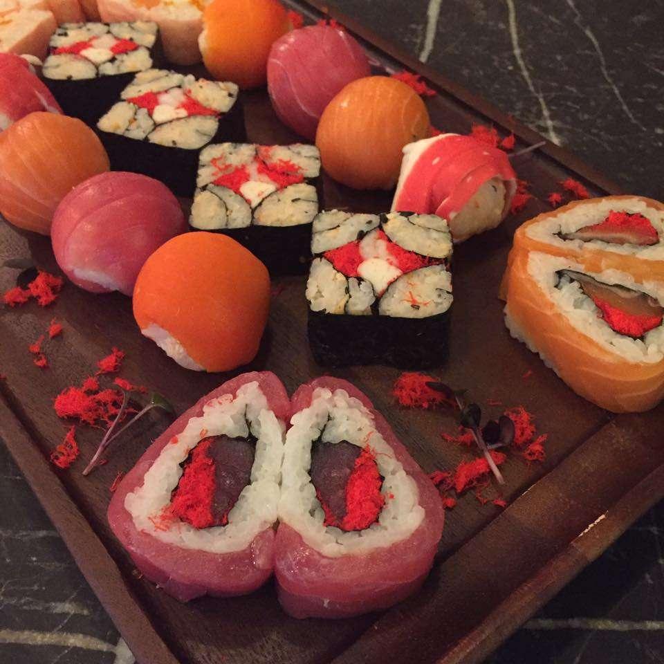 v day sushi