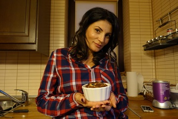 Cu actrița Ioana Ginghină despre preferințele ei culinare