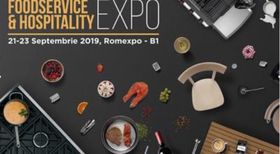 FoodService & Hospitality Expo  21-23 Septembrie 2019 ROMEXPO