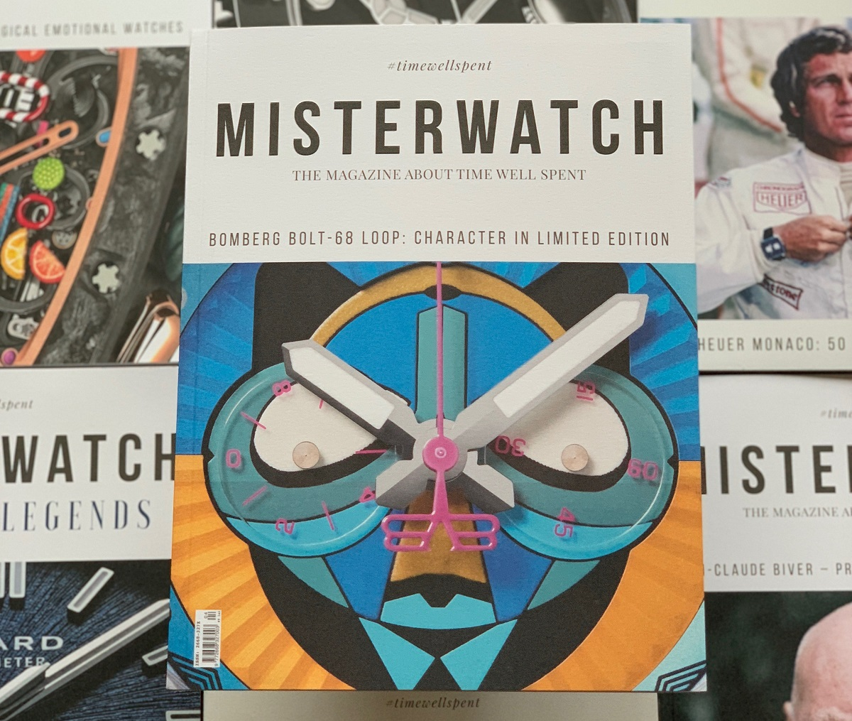 coperta revistei MisterWatch