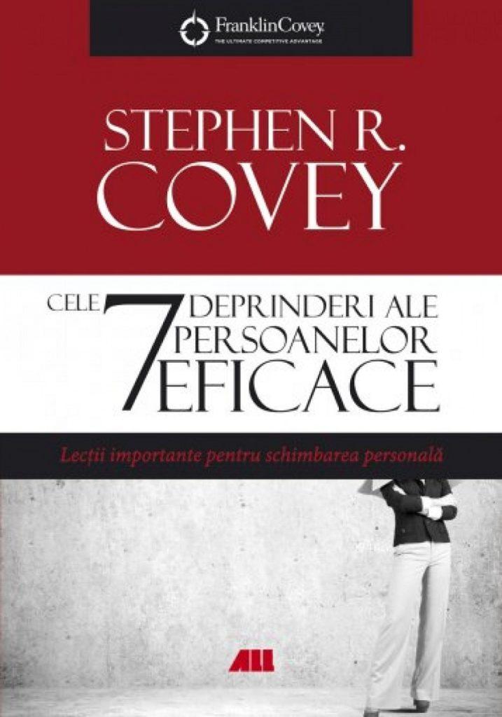 coperta cărții cele 7 deprinderi ale persoanelor eficace de stephen r. covey