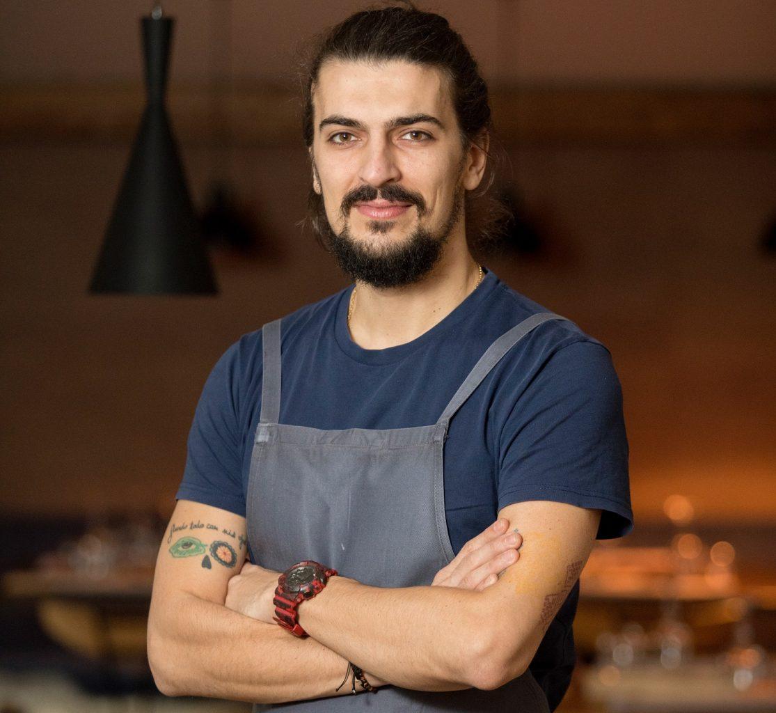 chef alex petricean de la restaurant noua bucătărie românească
