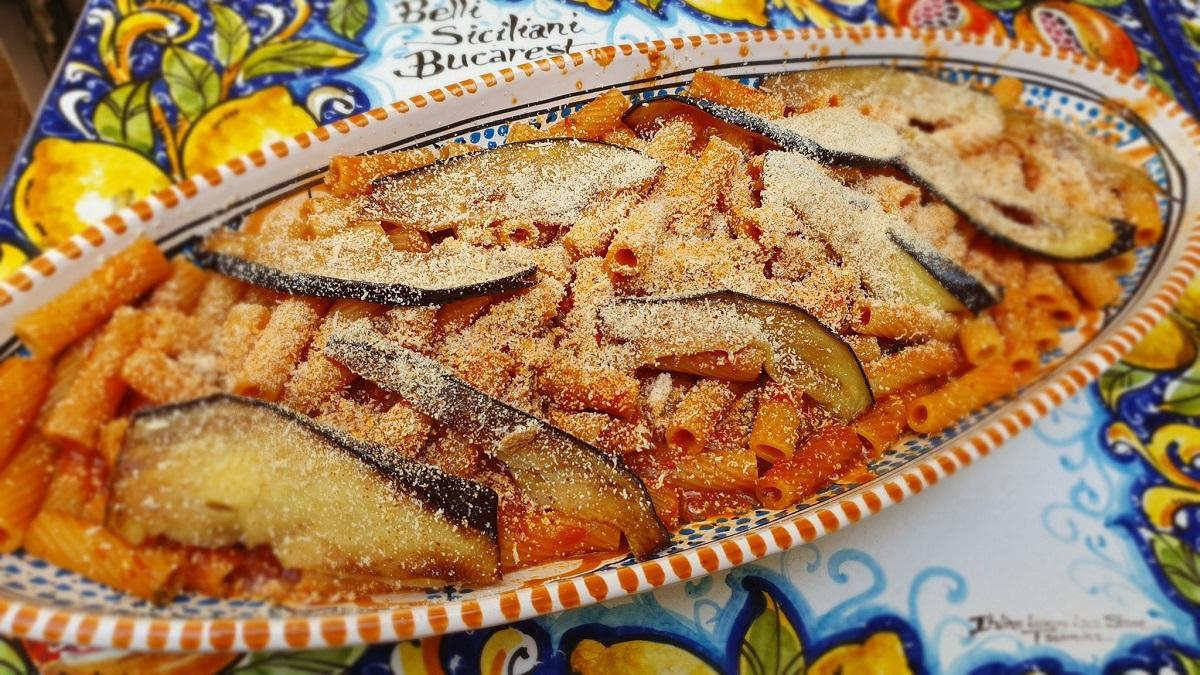 platou cu paste de la restaurant Belli SIciliani, cele mai bune paste