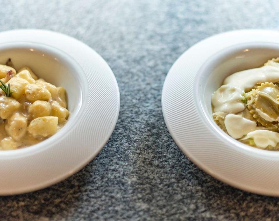 doua farfurii cu paste de la restaurant grano, cele mai bune mpaste din bucurești