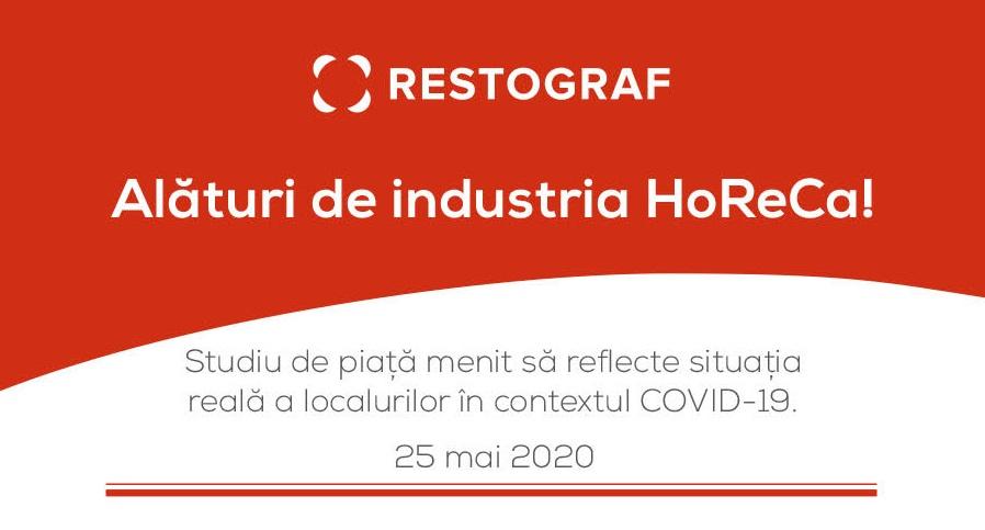 coperta Studiu Restograf Situația restaurantelor în contextul pandemiei COVID-19