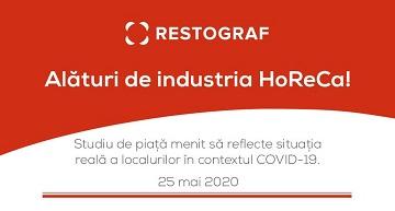 Studiu Restograf: Situația restaurantelor în contextul pandemiei COVID-19