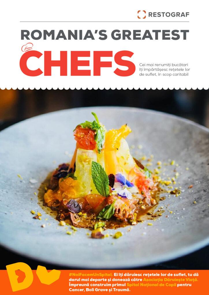 Romania's Greatest Chefs carte de bucate Restograf