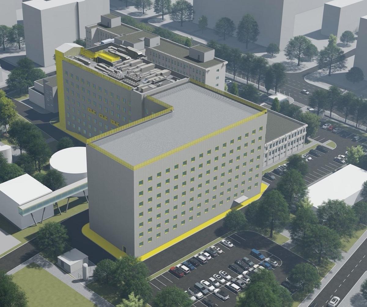 reconstructie spital Marie Curie