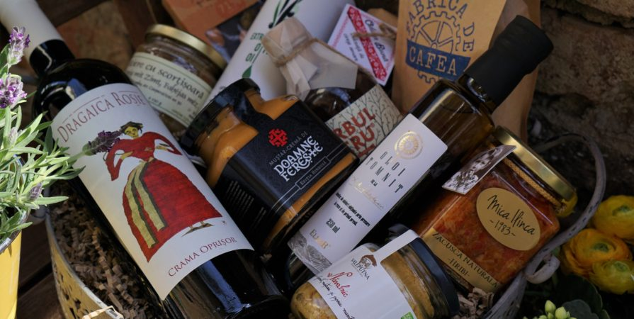 cadouri cu produse culinare de la Băcănia Veche