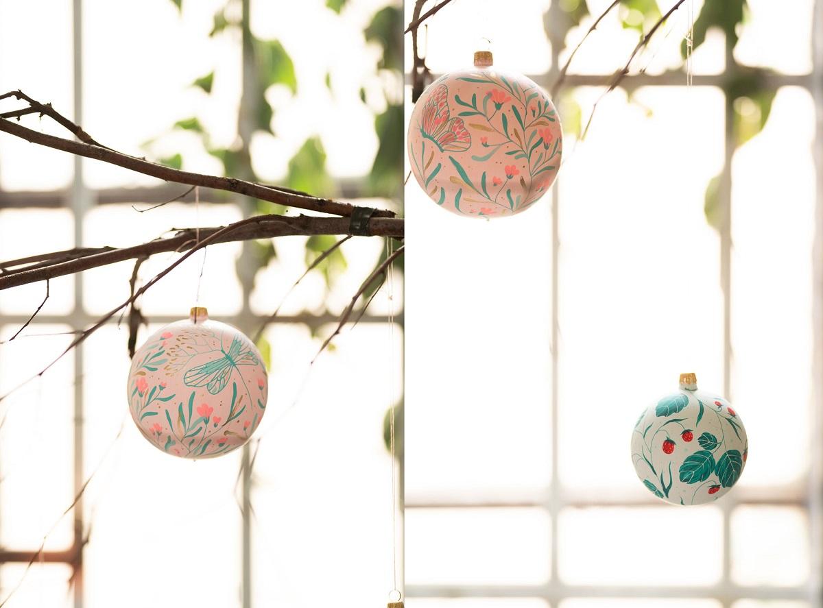 globulete hand made de ioana petre pentru crăciun