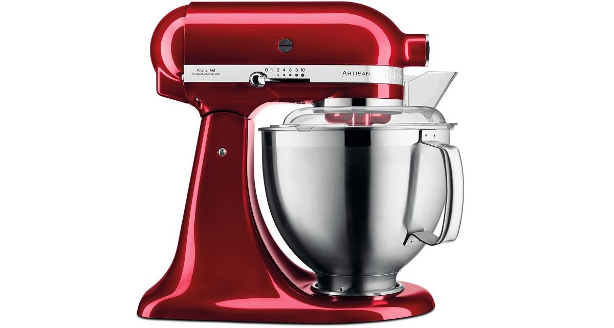 mixer artisan rosu de la kitchen shop idei cadouri crăciun foodie