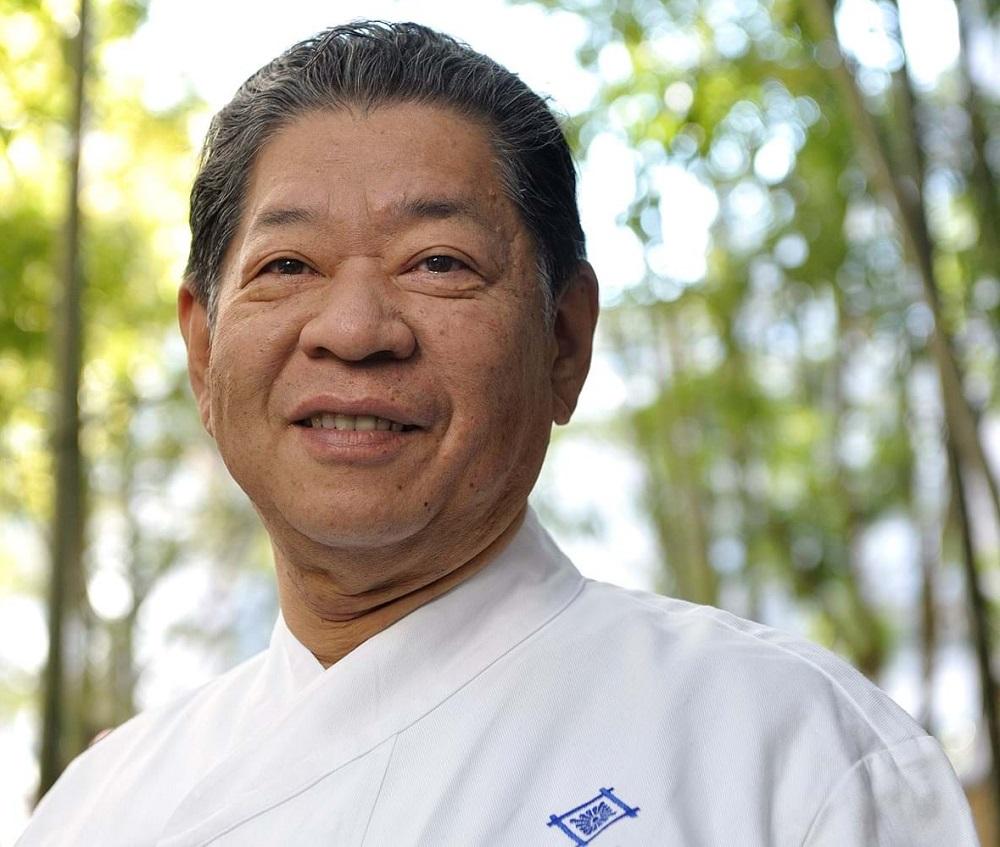 Chef Yoshihiro Murata portret, in natura, unul din cei mai buni bucătari din lume