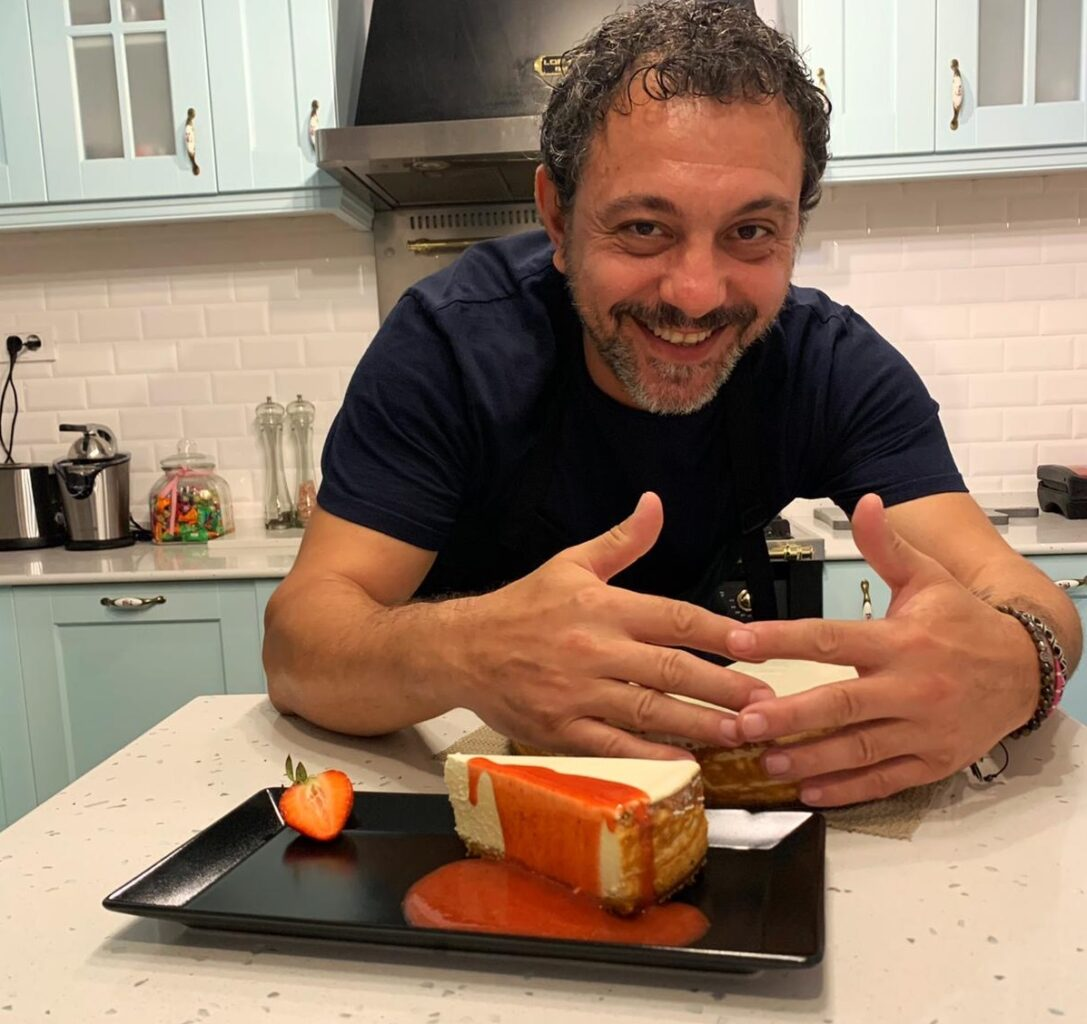 Sorin Bontea si cheesecake-ul sau de lamaie