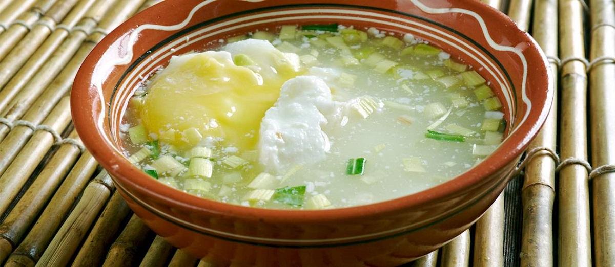 Changua, mic dejun traditional din columbia