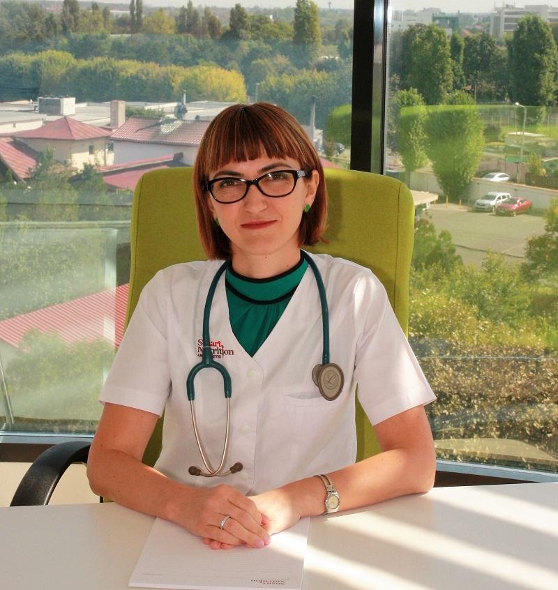 Doctor Mihaela Posea, medic specialist diabet, nutriție, boli metabolice și doctor în medicină, clinica Smart Nutrition