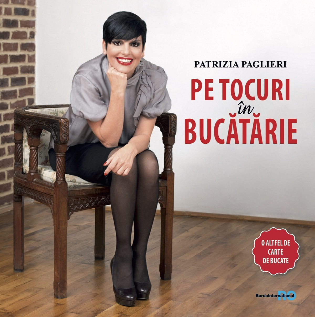 cărți de bucate bucătari români Patrizia Paglieri
