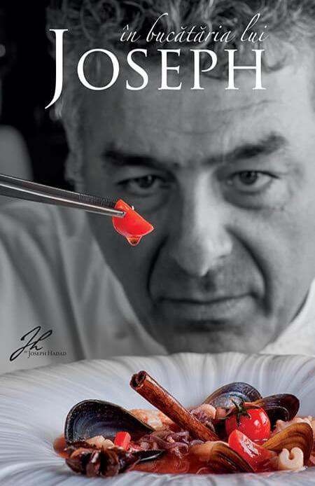 carte de bucate Joseph Hadad, bucătar român