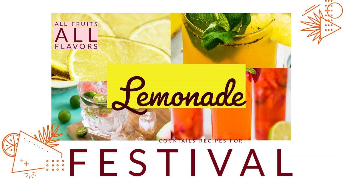 afisul evenimentului lemonade festivaleekend