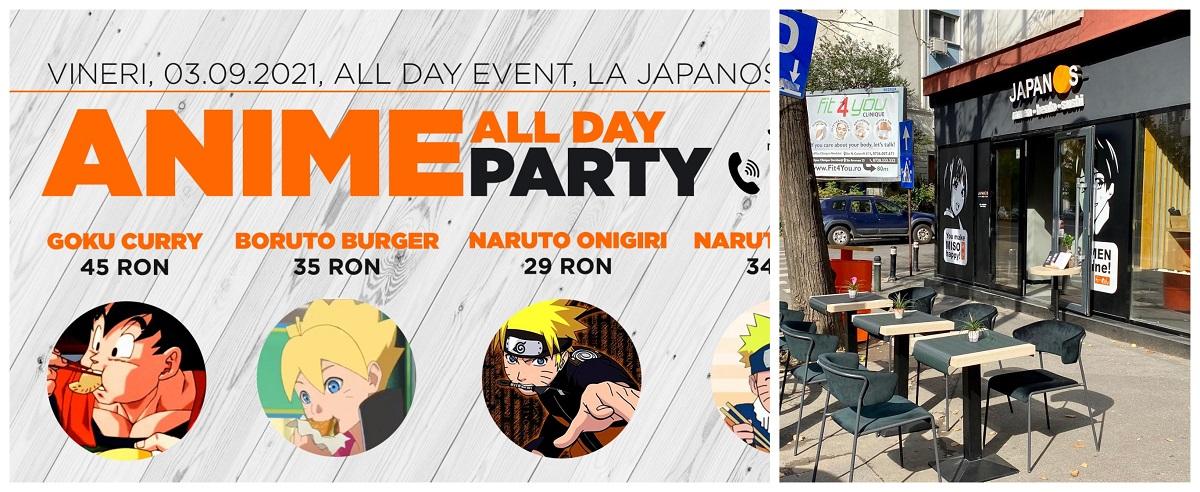 afis anime party de la Japanos