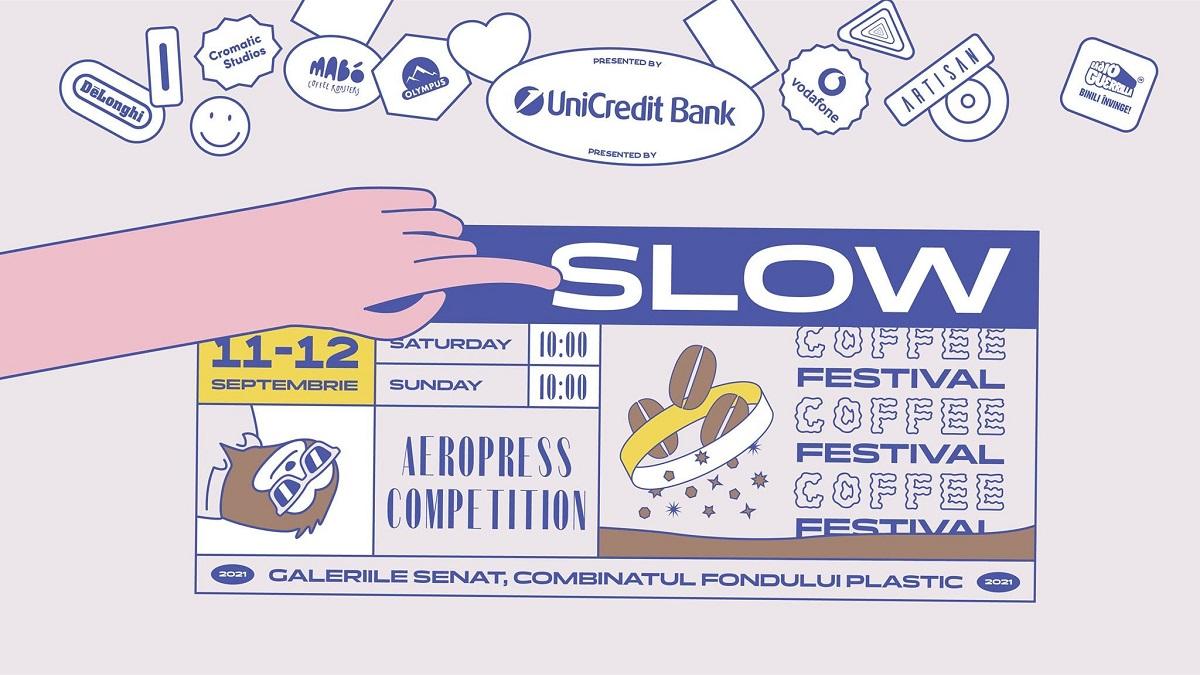 afiș slow-coffee-festival recomandări de evimente weekend 11-12 septembrie